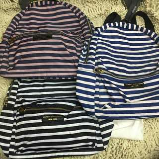 Marc Jacobs Small Backpack Stripes
