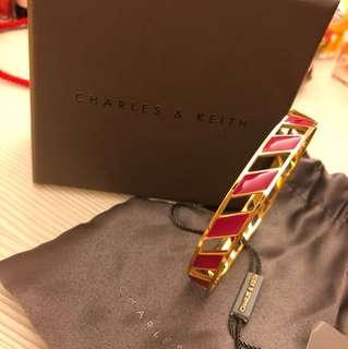 CHARLES & KEITH 新加坡品牌 小ck 手環