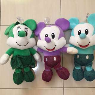 Mickey & Minnie Mouse Soft Toys