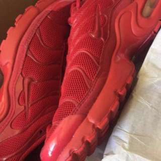 "Nike triple red tns // ""lavas"""