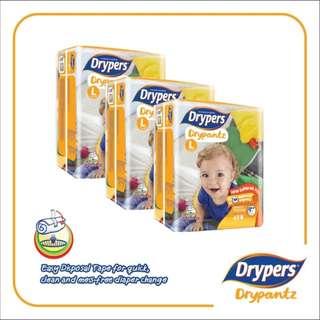 Drypers Drypantz L48 (3 pack)
