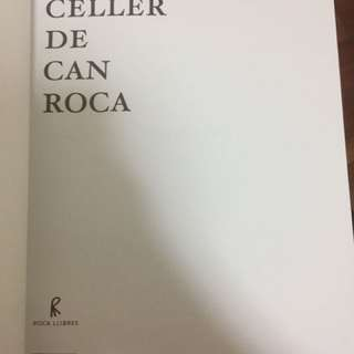 El Celler De Can Roca Michelin Star Book