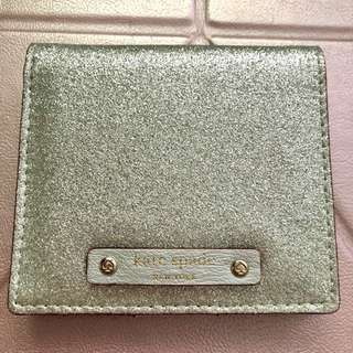 Kate Spade Sparkling Silver Short Wallet 閃銀色短銀包