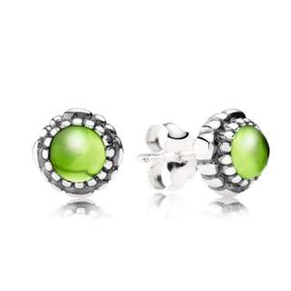 Pandora August stud earings