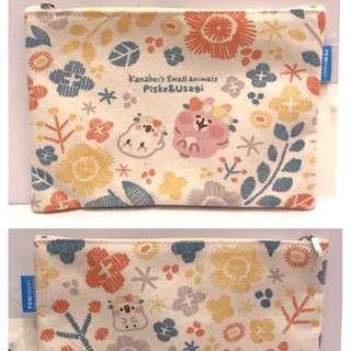 Kanahei兔兔P助 拉鏈小物袋 筆袋 日本直送春季限定