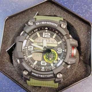 CASIO 軍綠色手錶