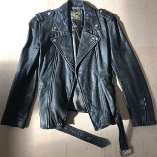 Blues Heroes leather jacket