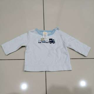 Gymboree Long Sleeve Shirt (0-3m)