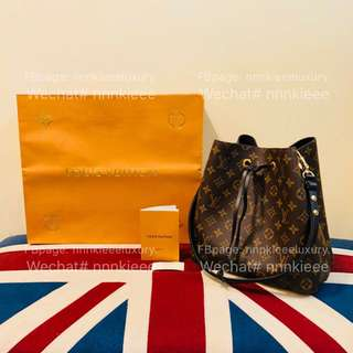 購自歐洲100% Authentic & brand new Louis Vuitton Neonoe in black