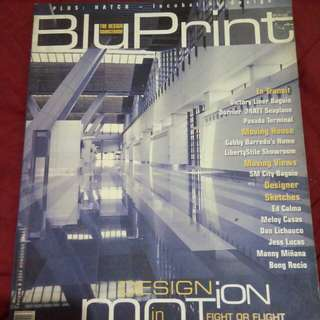 Bluprint magazine - design in motion