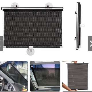 (HOT) 1 pair Car 40cm x 60cm Window Car Sun Shade Curtain
