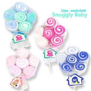 12pc. Washcloth Lollipop Gift set