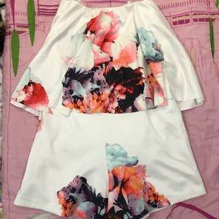 Jumpsuit floral nyla