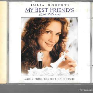 MY PRELOVED CD - MUSIC FROM MOTION PICTURE - JULIA ROBERT'S MY BEST FRIEND;S WEDDING / FREE DELIVERY (F3W)