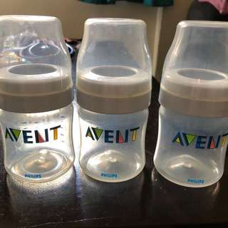 Avent newborn feeding bottles