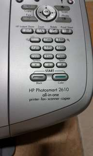 HP photosmart 2610 all in one