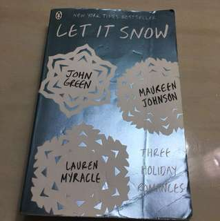 Let It Snow : John Green