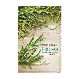 Nature Republic Mask Sheet TEA TREE