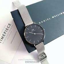 DW Daniel Wellington 32'mm black silver petite