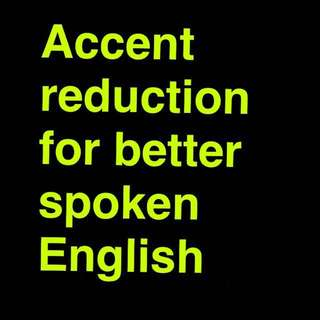 Accent reduction for aspirating OFWs