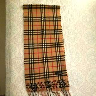 Burberry  100%羊毛頸巾