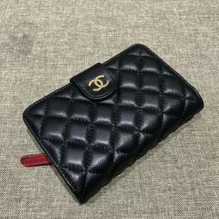 Chanel Purse Lambskin Black