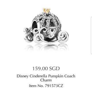 Pandora Disney Cinderella Coach