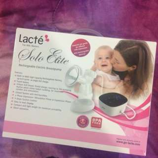 Breast Pump Lacte Sole Elite Clearance SALE!!!