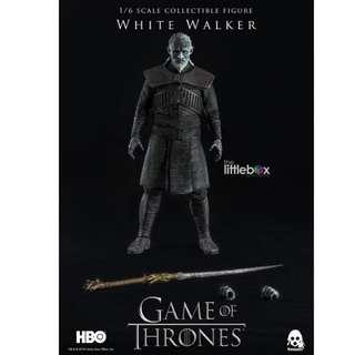 ThreeZero 1/6 Scale Game of Thrones - White Walker (Standard Version)