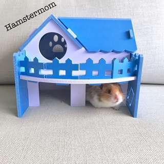 DIY Large Hamster Playground House Toy Set