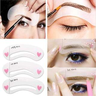 Korean Eyebrow Stencil