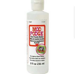 Instock: Mod Podge Photo Transfer Medium 8oz (236ml)