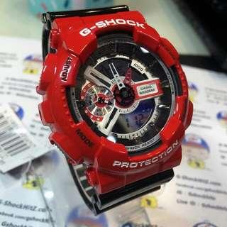 Model: GA-110   Ducati Red