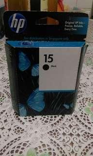 Hp printer ink black new $8