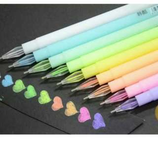 Water Chalk Pen(10 pieces)