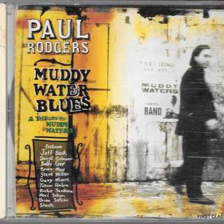MY PRELOVED CD  - PAUL RODGER;S MUDDY WATER BLUES. FREE DELIVERY (F3W)