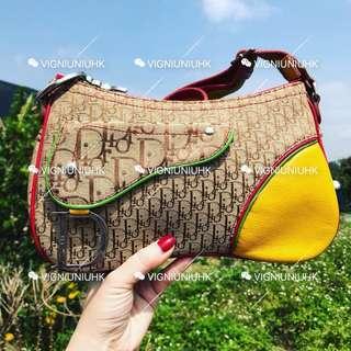 (Sold) Dior vintage 彩虹系列袋