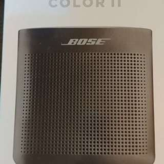 Bose soundlink color II (black color) 黑色藍牙揚聲器 Bluetooth speaker