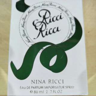Nina Ricci Eau De Perfume ( Last Bottle )
