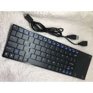(DELIVERY) RII Mini K12 Wireless Keyboard with Built In Large Touchpad