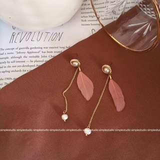 [PO Mar 2018 collection] Light and Graceful Dangle Earrings