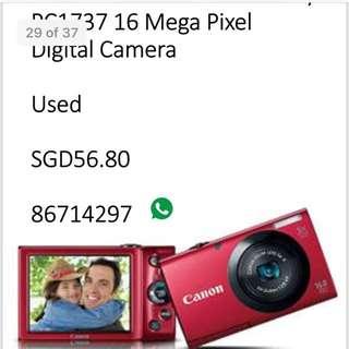 Canon 16 mega pixel