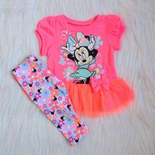 Minnie Mouse Baby shirt and leggings