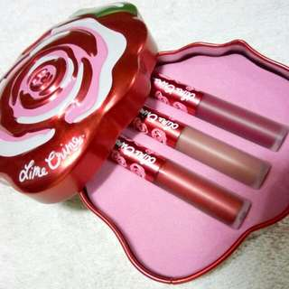 Lime Crime Red Velve-Tin in Trio