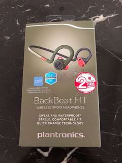 Plantronics back beat ear phone