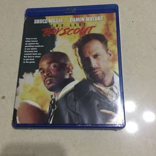 """Selling New Bluray """"The Last Boy Scout"""""""