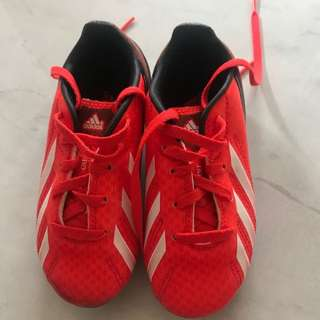 Authentic Adidas F10 kids soccer boots