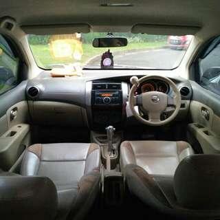 Nissan Grand Livina 1.5XV 2009AT...Orisinil Luar dalam