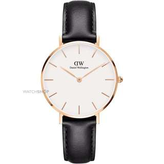 Daniel Wellington 32mm black /white petite black Sheffield