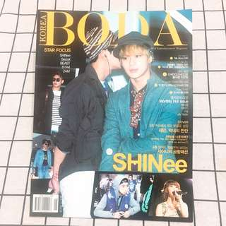 KOREA BODA - SHINEE 封面